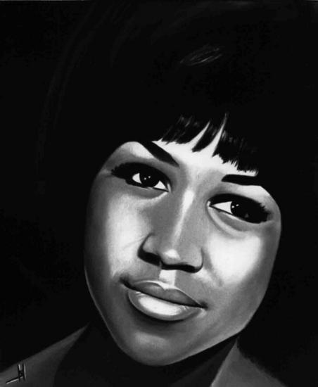 Aretha Franklin by sergepaul